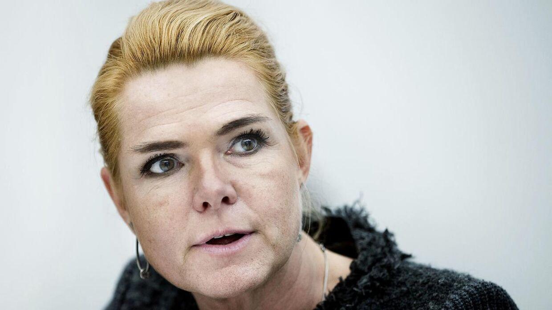 Udlændinge- og integrationsminister Inger Støjberg (V). ARKIVFOTO.