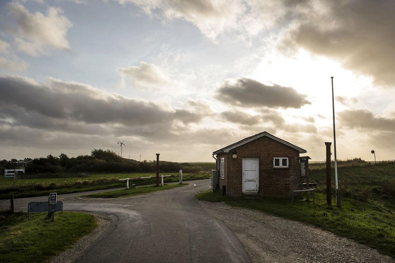 Grænsen mellem Danmark og Tyskland.