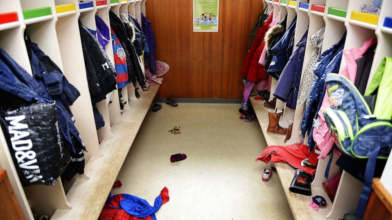 RB Plus. Arkivfoto fra børnehave. Flere børn starter tidligere i børnehaveNæsten halvdelen af de danske kommuner sender børn fra vuggestue eller dagpleje i børnehave, inden de er fyldt tre år. Det bekymrer forældre og fagforening.. (Foto: Claus Bech/Scanpix 2017)