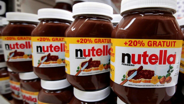 Opskriften på Nutella er blevet ændret en smule.