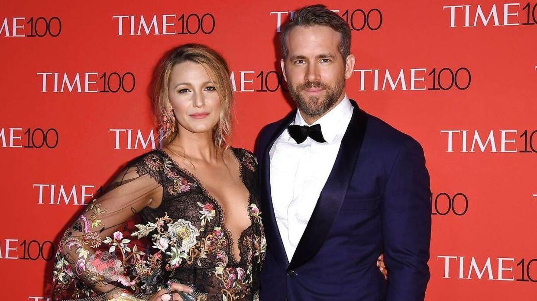 Skuespillerparret Ryan Reynolds og Blake Lively er kendt for ofte at gøre grin med hinanden på sociale medier.