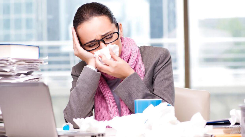 hvornår smitter forkølelse