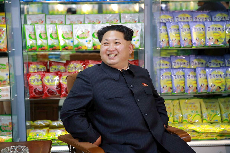 ARKIVFOTO af den nordkorenske leder Kim Jong-un.