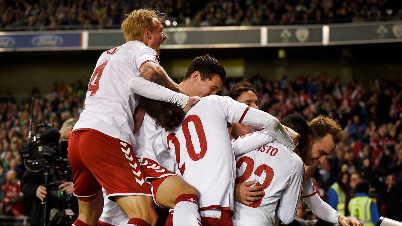 Det var ikke alle, der havde mulighed for at se hele kampen mellem Danmark og Irland.