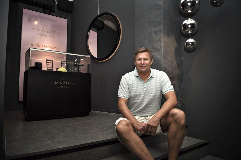 Jesper 'Kasi' Nielsen har store ambitioner med Amazing Jewelry.