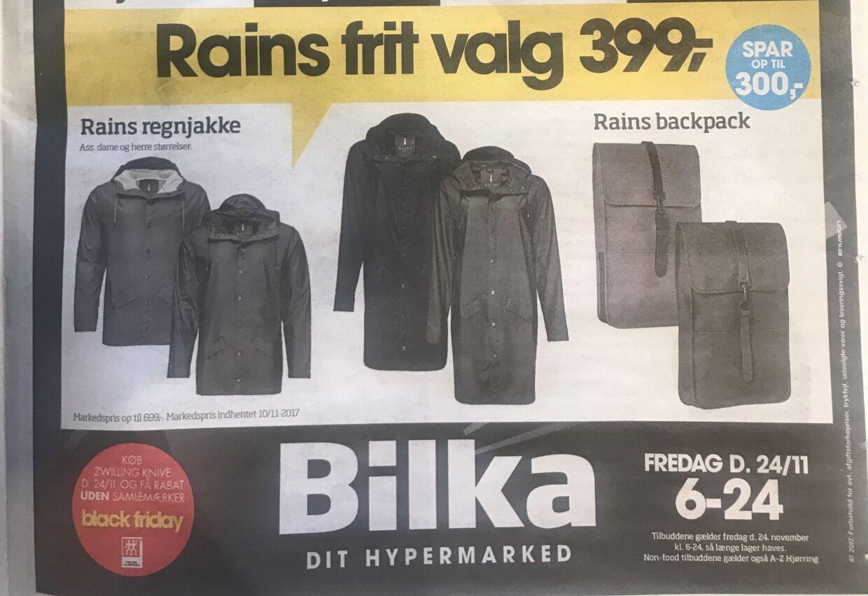 føtex regntøj