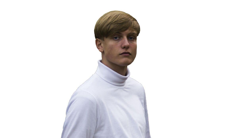 Mathias Bach, formand for De Danske Folkekoleelever, 16 år, Næstved