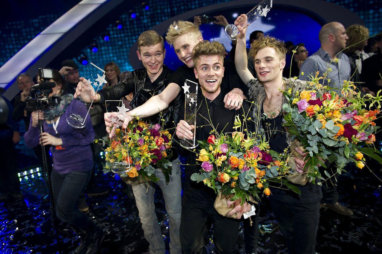Som vindere af dansk melodi grand prix i 2011.