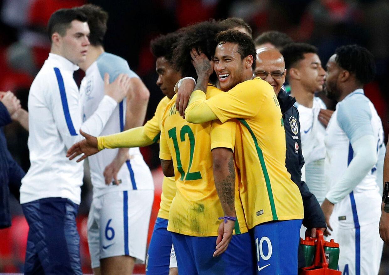 Neymar il gøre alt for at vinde VM-titlen med Brasilien til sommer.