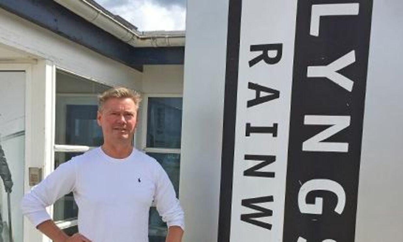 Bo Lyngsøe har tjent et trecifret millionbeløb på at sælge sit firma Lyngsøe Rainwear.