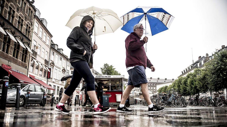 Sommeren 2017 bød på den laveste makstemperatur, DMI nogensinde har målt. (Foto: Mads Claus Rasmussen/Scanpix 2017)