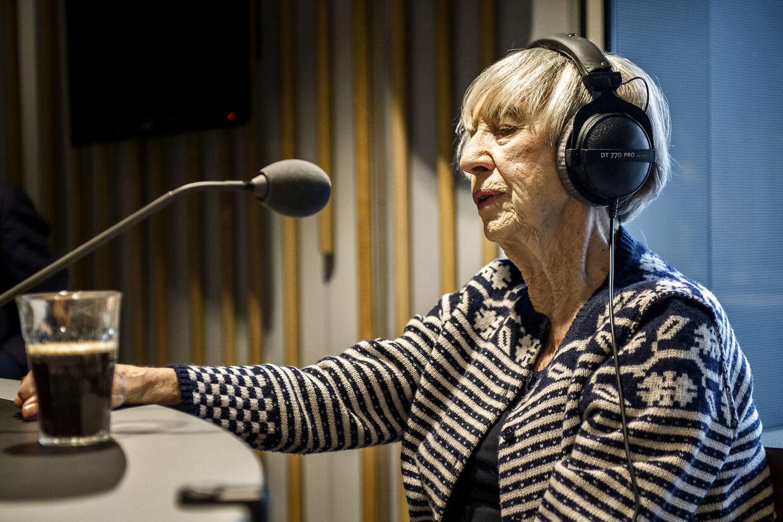 Lise Nørgaard har før været medvirkende i Radio24syv, 2013.
