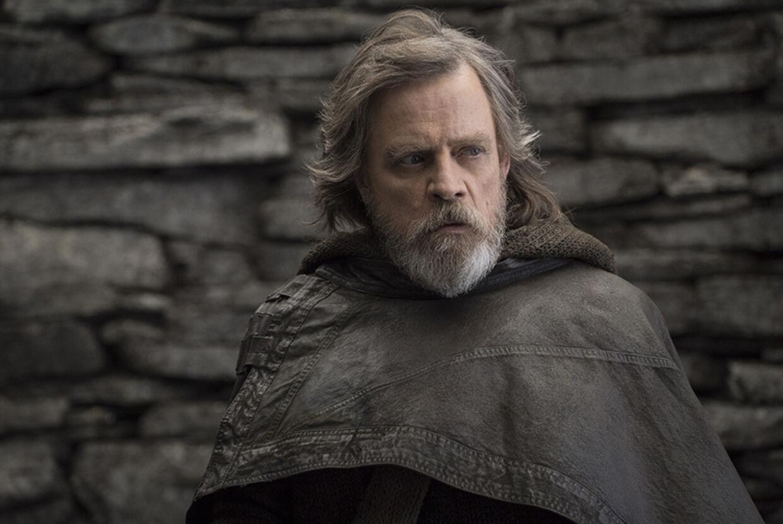 40 år efter første film, giver Mark Hamill en stærk præstation som den rådvilde Jedi-ridder Luke Skywalker. Foto: Lukas Film LTD.