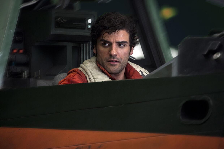 Oscar Isaac er selvfølgelig tilbage som den rebelske Poe. Foto: Lucasfilm Ltd.