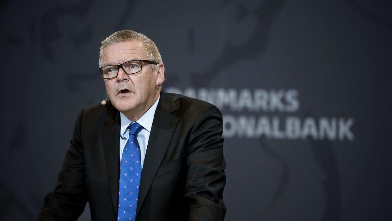 Nationalbankdirektør Lars Rohde advarer danskere mod at kaste sig ud i investeringer i bitcoins. (Arkivfoto)