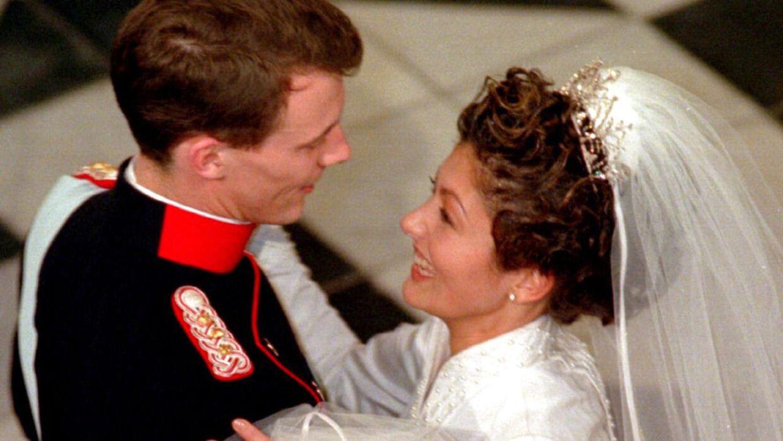 Sådan så glansbilledet ud, da Joachim og Alexandra blev gift.