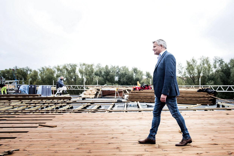Jan Elving, direktør i Øens Murerfirma.