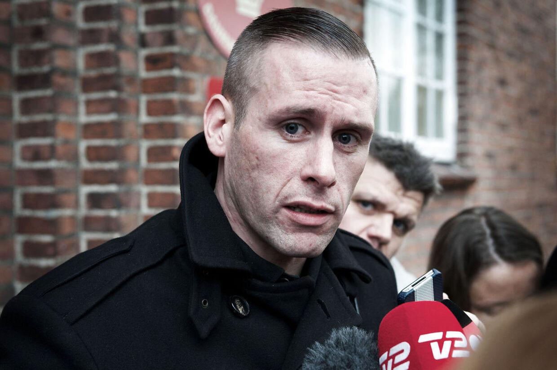 L.O.C. foran retten i Odense, hvor han 7. november blev idømt 40 dages betinget fængsel for vold. Nu har Statsadvokat besluttet, at dommen ikke bliver anket.