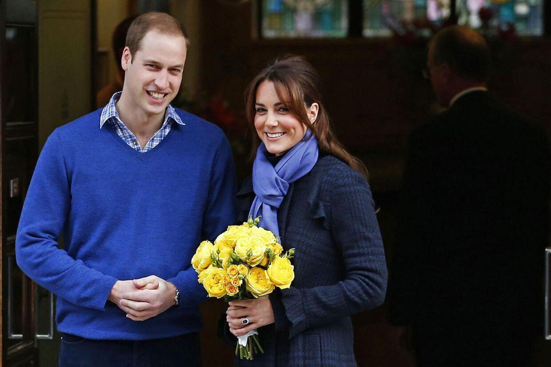 Kate og William har valgt at holde jul hos Kates forældre.