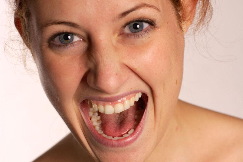 metalsmag i munden