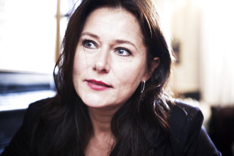 Sidse Babett Knudsen som Birgitte Nyborg i 'Borgen'.