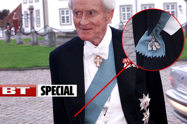 Nok erElefantordenenrigets højeste orden, men ligesom alle andre kongelige ridderordener skal også Elefantordenen returneres til Amalienborg ved en ridders død.