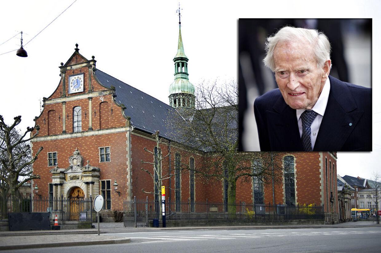 Mærsk bisættes fra Holmens Kirke på lørdag. Derefter skal den afdøde skibsreder begraves på Hellerup Kirkegård.