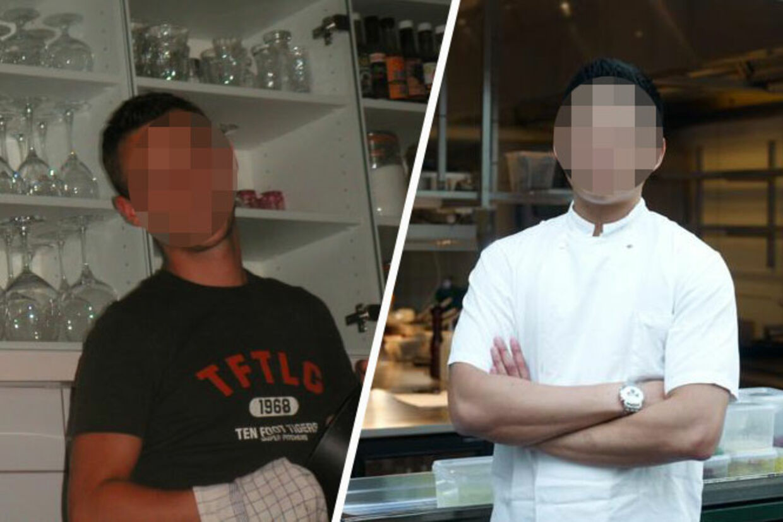 Den 37-årige (tv) restaurantchef stod i spidsen for ansete restauranter, inden han kom til Pricernes restaurant i Tivoli.Den 26-årige (th) køkkenchef, der indtil juli sidste år var ansat hos brødrene Price.