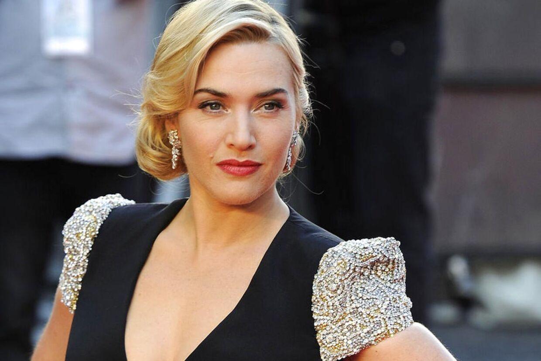 Kate Winslet til verdenspremieren den 27. marts af Titanic 3D.