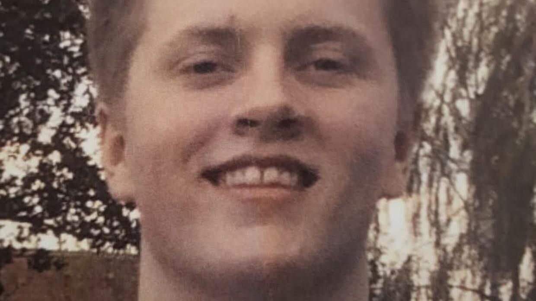 20-årige Holger, der har været forsvundet siden oktober 2017.