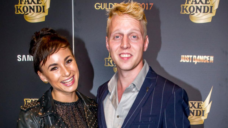 Claudia Rex og Pelle Emil Hebsgaard er blevet gift.