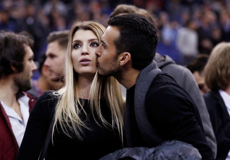Chelseas Pedro havde taget kæresten med