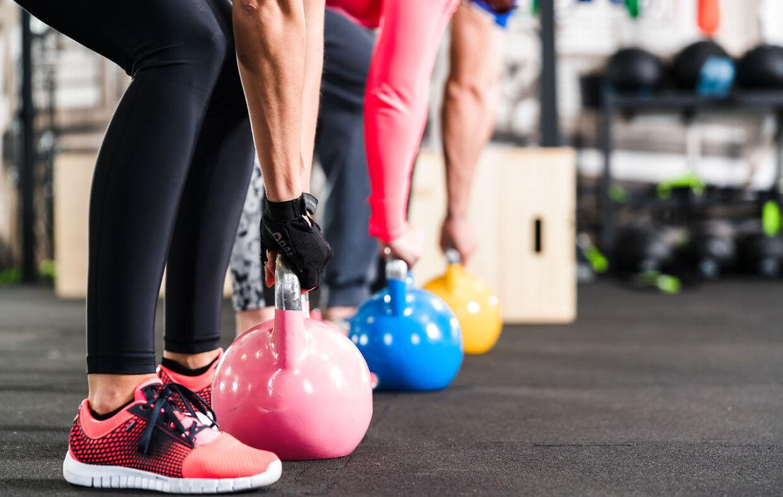 Muskelopbyggende træning er vigtig, når du er mellem 40 og 50.