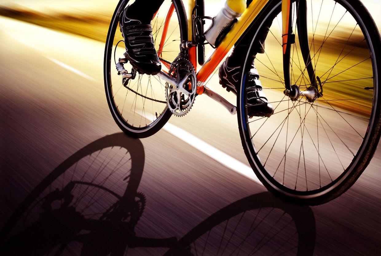 Cykling er sundt når man er mellem 50 og 60 år.