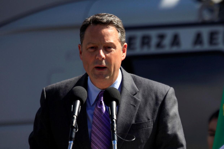 Den amerikanske ambassadør i Panama, John Feeley, har sagt op, da han ikke længere føler, at han kan arbejde for Trump. Reuters/Eliana Aponte