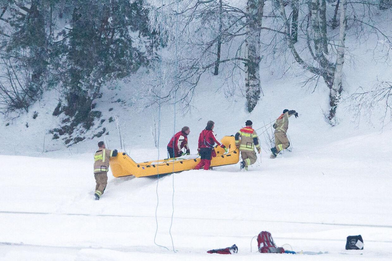 I forbindelse med eftersøgningen i Våler lørdag fandt politiet en død person.