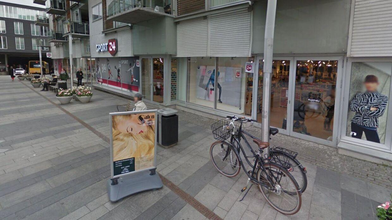 Den store Sport24-butik på Telefontorvet i Århus lukker.