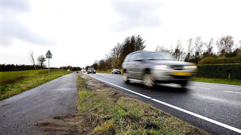 Det nye skilt hænger bl.a. på landeveje og motortrafikveje. Foto: Arkivfoto.