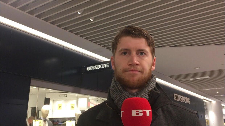 Frederik Kronvig, 24 år og studerende.