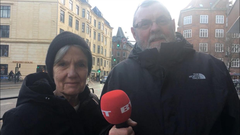 Mette Burskov er 68 år og pensionist. Per Burskov er 70 år og pensionist.