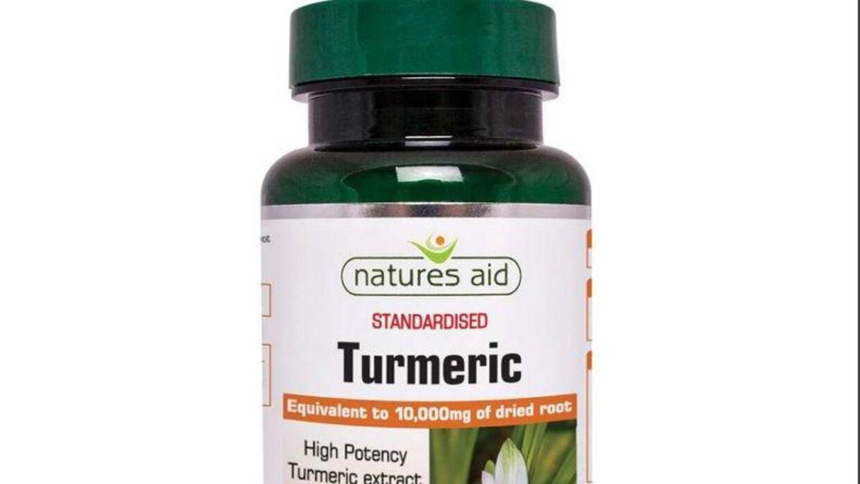 Kosttilskuddet Natures aid Turmeric kaldes tilbage.
