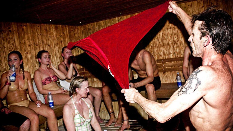 Sauna er blevet så populært, at de fleste svømmehaller nu tilbyder saunagus. Foto: Kristoffer Juel Poulsen.