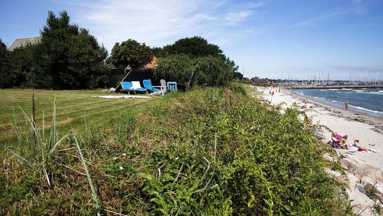 Arkivfoto. Danske boligsøgende er vilde med Samsø.