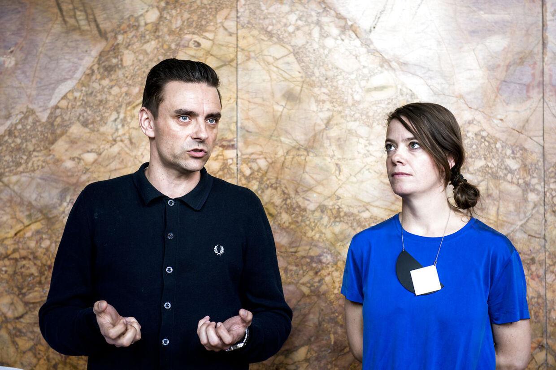 Marie Kold-Kjær Højlund og Simon Kvamm.