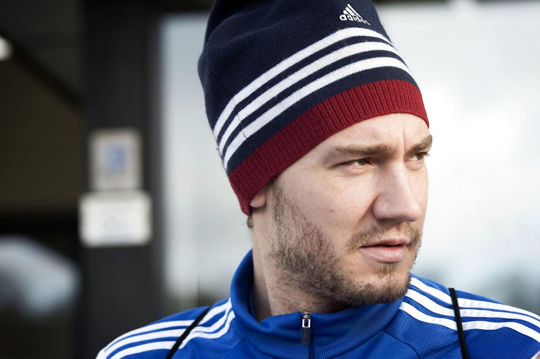 ARKIVFOTO 2015 af Nicklas Bendtner. Nicklas Bendtner fortæller i et interview med Euroman, at han har mistet tilliden til sin far. Det skriver Ritzau, lørdag den 3. februar 2018.. (Foto: Jens Nørgaard Larsen/Scanpix 2018)