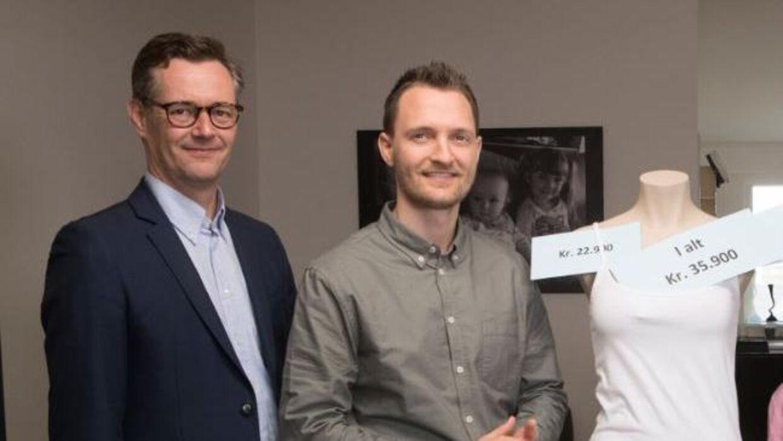 Her ses eksperterne Carsten Linnemann og Kenneth Hansen, der medvirker i tv-programmet 'Luksusfælden' som økonomiske eksperter.
