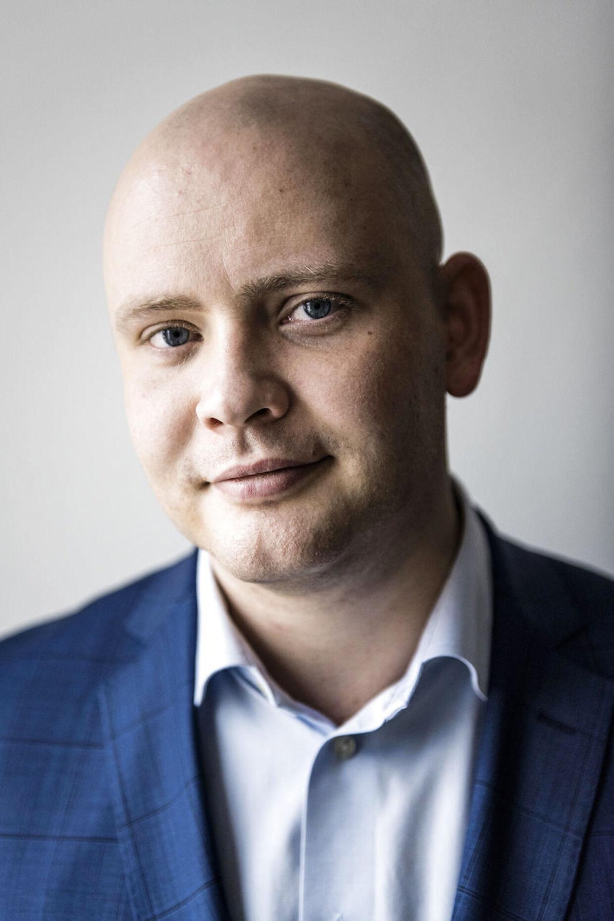 (ARKIV) 20161012 af Jakob Engel-Schmidt fra Venstre. Jeg lægger mig fladt ned, siger Jakob Engel-Schmidt, der i juli blev taget for at køre bil med narko i blodet. Det skriver Ritzau, onsdag den 7. februar 2018.. (Foto: Thomas Lekfeldt/Scanpix 2018)