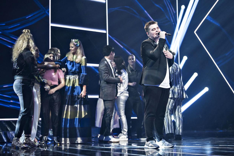 Fra 'X Factor' 2017 da Morten Nørgaard vandt finalen i DR Byen.