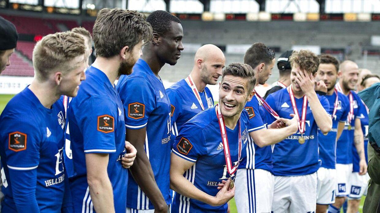 Lyngby Boldklub undgår konkurs. (foto: Henning Bagger / Scanpix 2017)