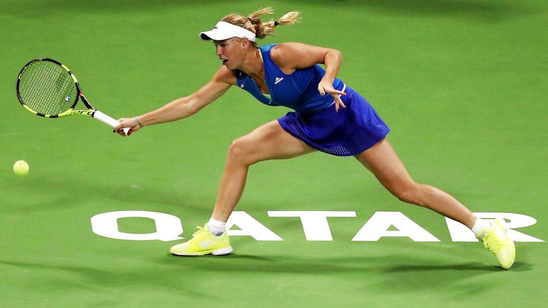 Caroline Wozniacki deltager i den kommende uge ved WTA-turneringen »Qatar Total Open«, hvor hun i fjor var tabende finalist.